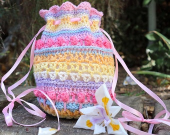 Flower Child Tote Crochet Pattern