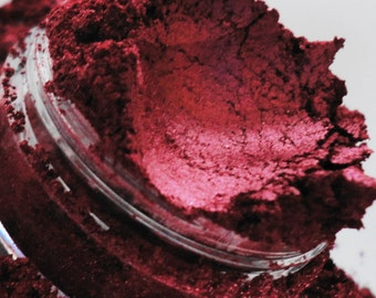 Shameless Eyeshadow Mineral Make up eyeliner 5g Sifter Jar red cherry rouge Eye shadow Petite size Natural Organic Vegan