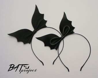 Bat Bow Headband BAT PROJECT
