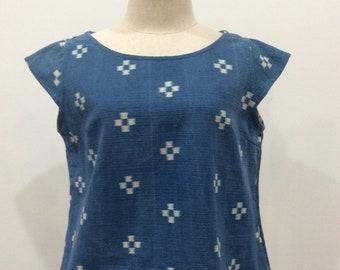 Cotton Blue Blouse