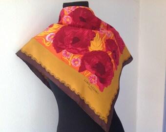 Loris azzaro Paris vintage scarf