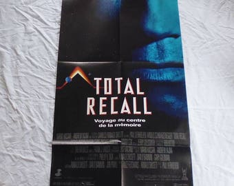 1990 total Recall movie poster original 60X160cm very good condition/vgc