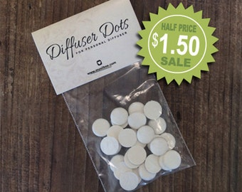 Essential Oil Necklace Diffuser Dots Pads Refills