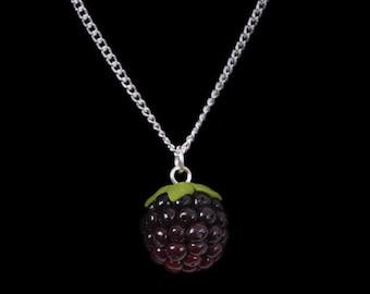 Autumn Blackberry (Bramble) Necklace