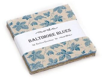 Moda Baltimore Blues Charm Pack by Barbara Brackman