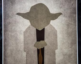 Yoda Minimalist Poster