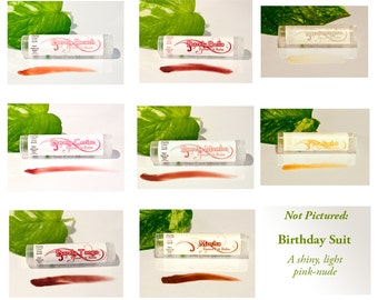 Vegan Tinted Lip Balm - CHOOSE ANY SHADE