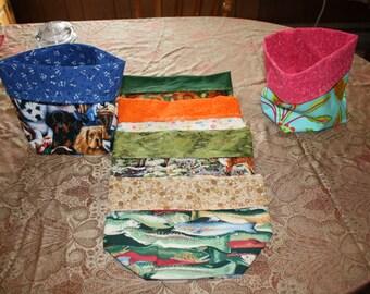 Small Fabric Storage Bins