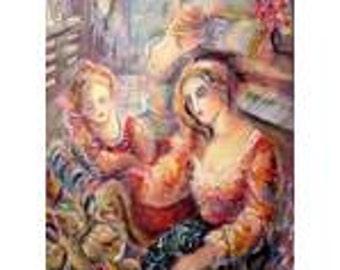 Sevitt Francis art print Strings of Music Limited Edition signed