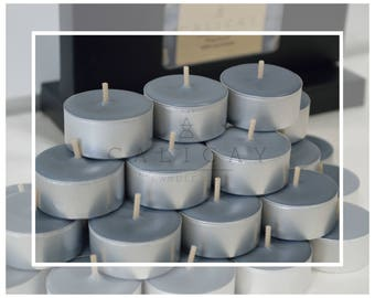 Hand Poured Natural Soy BeesWax Tealight Candles (Tealights) - Patchouli