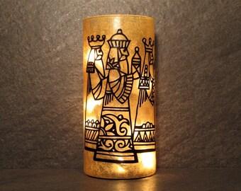 Three Wise Men Christmas Light, Three Kings Light