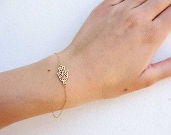 Hamsa Hand Bracelet Red String Of Fate Hamsa Jewelry Hand