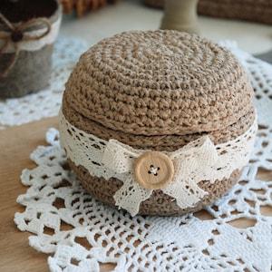 Crochet jewelry box Etsy AU