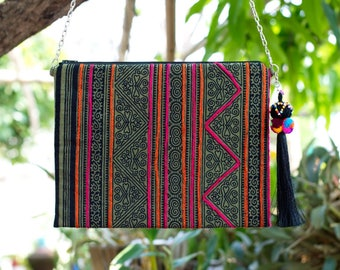 Bohemian / Ipad mini cases / Handbags / Purses / Messenger Bags / Anniversary Gifts / Christmas Gift Ideas / Green / Stripe