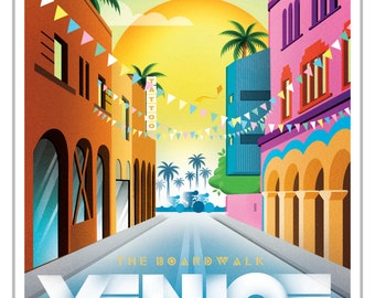 5x7 Greeting Card - Venice California