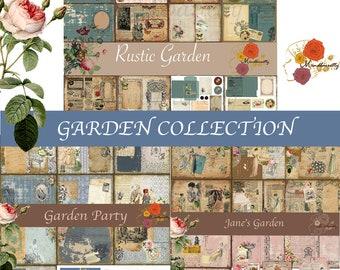 Garden COLLECTION (Rustic Garden, Jane Garden, Garden Party)