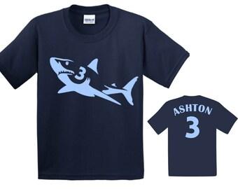 Shark Birthday Shirt