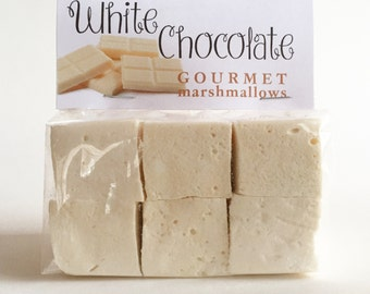 Fresh Gourmet Artisan White Chocolate Marshmallows **Gluten Free**