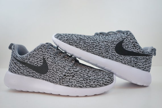 uk availability 8dcef 98371 New Custom Nike Roshe Run Yeezy 350 Boost Inspired Yeezy laces Made to  Order Adidas Yeezy ...