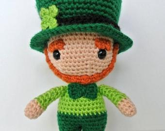 Amigurumi Leprechaun Doll