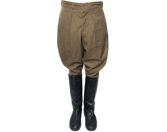 Russian State Security riding breeches Galife trousers Blue piping