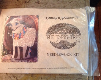 Vintage New In Package Carolyn Barrani The Tapis Tree Needlework Kit