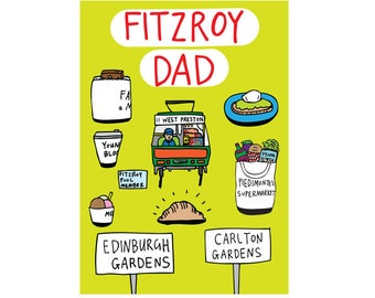 Father's Day Card - Fitzroy Dad