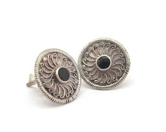 Vintage Silver Earrings, Sterling Silver Earrings, Vintage Sterling Silver Earrings, 925 Post Earrings, Vintage Pierced Earrings, Petite
