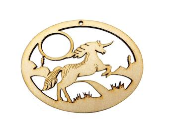 Unicorn Ornament - Unicorn Christmas Ornament - Unicorn Gift Topper - Unicorn Gifts - Unicorn Decor - Unicorn Ornaments - Personalized Free