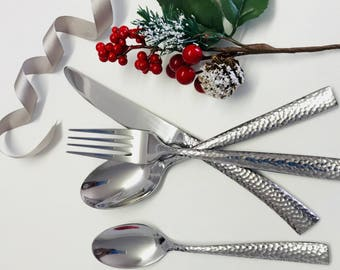 Set of 24 pieces - silver cutlery