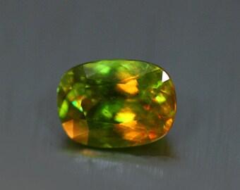 4.380CTS Wonderful 100% Natural Superb COLOUR CHANGE sphene-loose gemstone