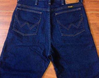 70's Wrangler 82644NV Vintage Jeans - Talon 42 - Fit like 30W 33L