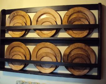 Plate Shelf, Plate Rack, Hanging Plate Shelf, Hanging Plate Rack, Wall Plate Holder, Wall Plate Rack, Wall Mounted, Wall Plate Shelf