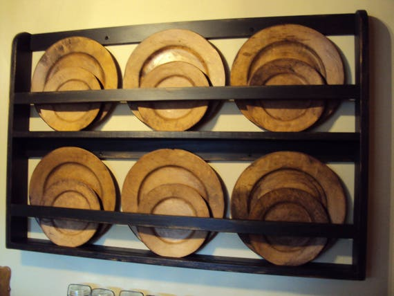 & Plate Rack Plate Shelf Hanging Plate Shelf Hanging Plate