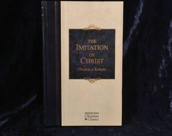 The Imitation Of Christ Vintage Book