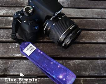 DSLR Camera Strap Galaxy Mini | Accessories | Soft Cotton | Live Simple®