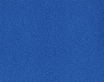 RJR Patrick Lose Basically Patrick Mille Fiore Blue Circles fabric 2627-017 BTY