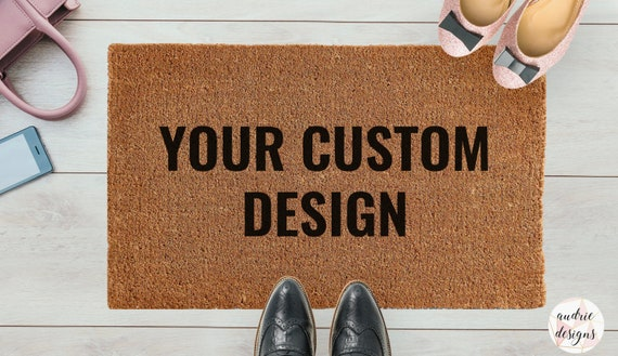 Doormat | Your Custom Design | Entrance Mat | Welcome Mat | Custom Doormat | Custom Housewarming Gift by Etsy