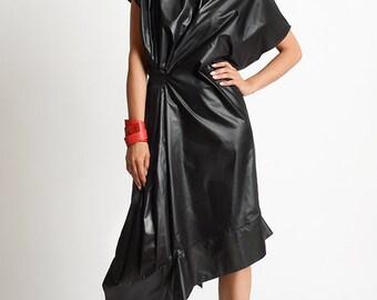 NEW Loose Black Dress/Asymmetric Black Kaftan/Plus Size Maxi Dress/Black Maxi Dress/Loose Oversize Tunic/Elegant Evening Dress/Loose Tunic