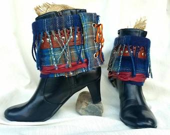 Boho boots~Boho hippy gypsy~Boho cottage chic~Boho Shabby chic~Boho fringe~North Coast