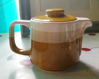 Vintage Teapot Harvest Gold