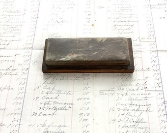 Whetstone Sharpening Block Primitive Kitchen Tool