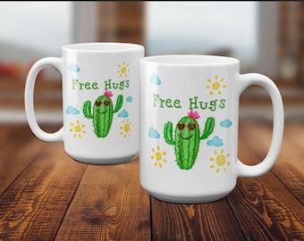 Funny Coffee Mug, Mug Quote, Cactus Mug, Funny Mugs, Coffee Mugs, Funny Gifts, Mugs With Quotes, Mugs With Sayings, Best Friend Gift, Mug