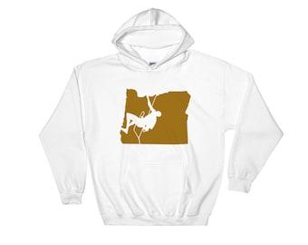 Climb Oregon - Hooded Sweatshirt