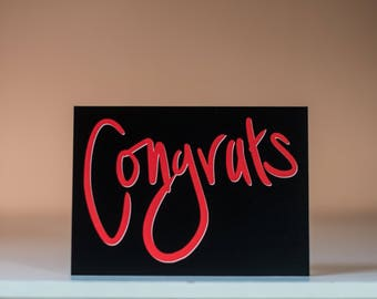 Congrats on Your New Little Love - Greeting Card - New Baby Card - Expecting Card - Congratulations Card