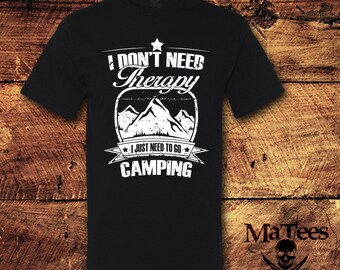 Camping Therapy, Camping T Shirt, Camping TShirt, Camping Shirt For Men, Camping Shirt, Camping Shirt For Women, Shirt, Tee, T Shirt