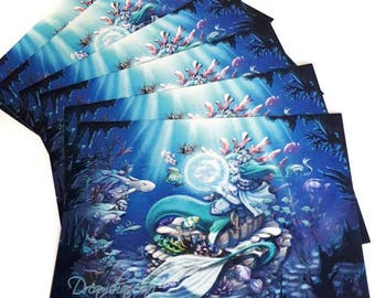 Zodiac Postcard - Pisces
