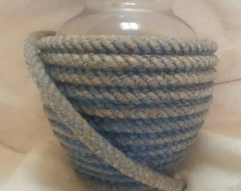 Rope Covered Vase