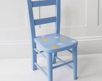 Blue Star Childs Chair