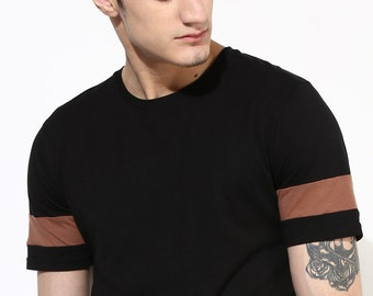 Classic Black T Shirt. Eco Friendly T-Shirt. Ethical Fashion.